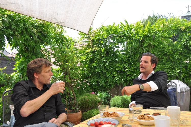 Martin von Mackensen (l.) und Christian Vagedes (r.) Foto: Info3