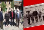 Das Gründungsteam des Dottenfelderhofes – heute und damals. © Info3 Verlag 2018
