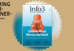 Geringverdiener-Abo der Zeitschrift Info3. © Info3 Verlag, Janka Fischer 2018