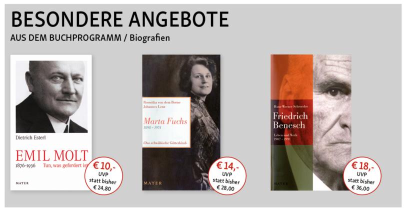 Info3 Buchprogramm - Sonderangebote. © Info3 Verlag 2018