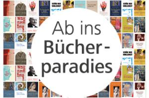 Ab ins Bücherparadies, © Info3 Verlag