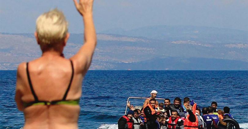 Flüchtlinge: Das Prinzip der Abschreckung. © Picture Alliance - Info3 Verlag 2018