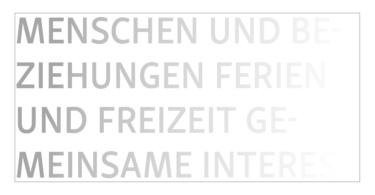 Kleinanzeigen der Zeitschrift Info3. © Info3 Verlag 2018