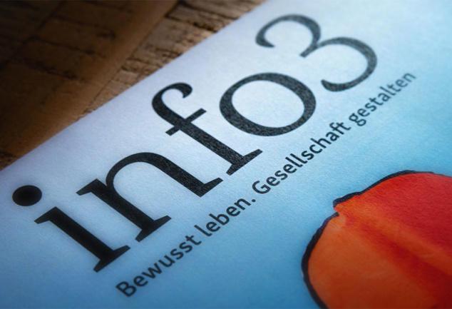 Info3 Neustart in Print und Web. © Info3 Verlag 2018