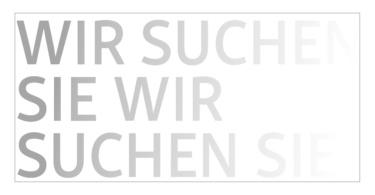 Stellenmarkt der Zeitschrift Info3. © Info3 Verlag 2018