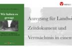 Almar von Wistinghausen: Wir haben es gewagt. © Info3 Verlag 2018