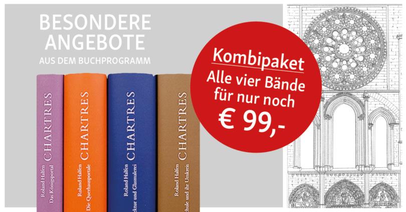 Sonderangebot Chartres: Alle 4 Bände für nur 99,00 Euro. © Info3 Verlag 2018