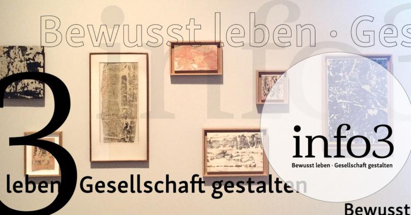 Zeitschrift Info3. © Janka Fischer, Info3 Verlag