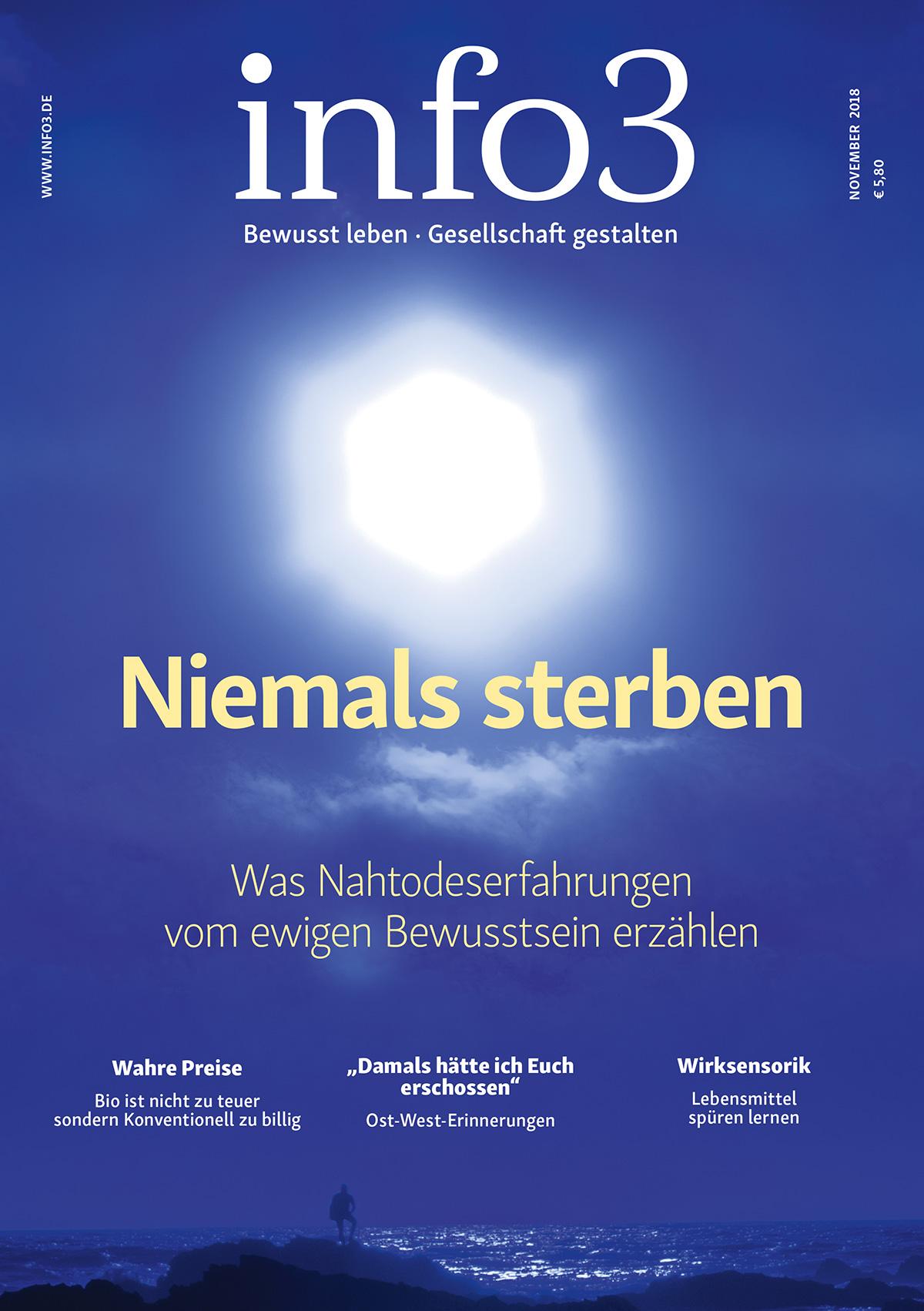 Zeitschrift Info3, Ausgabe Novemer 2018