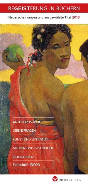 Info3 Verlag Gesamtverzeichnis 2018 / Cover. © Info3 Verlag 2018
