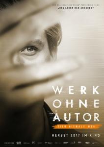 """Sieh nicht weg! Filmplakat von """"Werk ohne Autor"""", © bwi / Info3 Verlag 2018"""