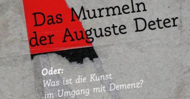 Silke Kirch: Das Murmeln der Auguste Deter. © Info3 Verlag