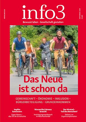 Zeitschrift info3, Ausgabe September 2019. © Info3 Verlag