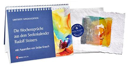 Sonderedition: Die Wochensprüche aus dem Seelenkalender Rudolf Steiners. © Info3 Verlag
