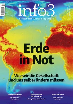 Zeitschrift info3, Ausgabe Januar 2020. © Info3 Verlag