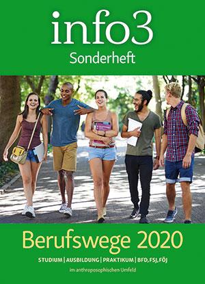 info3 - Sonderheft Berufswege 2020. © Info3 Verlag