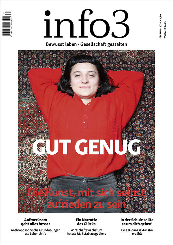 Zeitschrift info3, Ausgabe Februar 2020. © Info3 Verlag