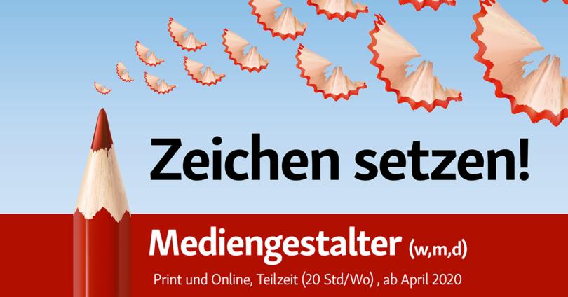 Info3 Verlag: Stellenangebot Mediengestalter (w/m/d) Print und Online