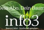 Zeitschrift info3 - die Abos. © Info3 Verlag