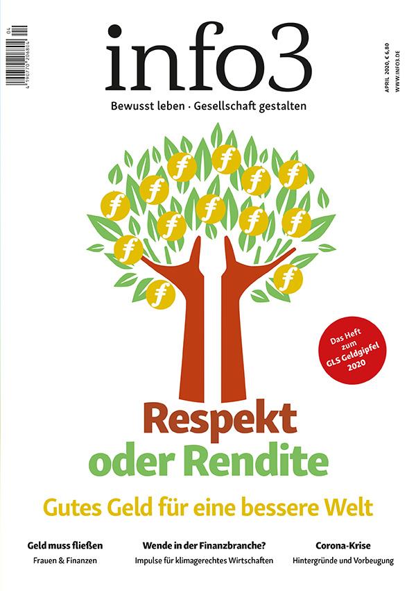 Zeitschrift info3 April 2020. © Info3 Verlag