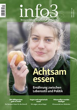 Zeitschrift info3 März 2020. © Info3 Verlag