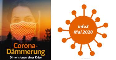 Zeitschrift info3, Ausgabe Mai 2020. © Info3 Verlag