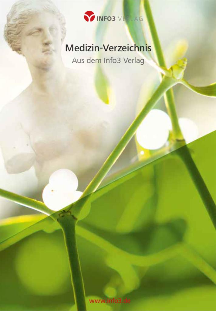 Info3 Verlag: Verzeichnis der Medizin-Titel. © Info3 Vertlag 2020