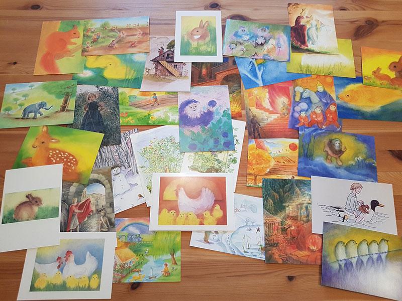 Postkartenset Für Kinder 1