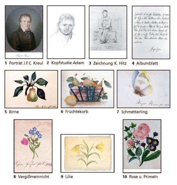 Postkartenset Kaspar Hauser
