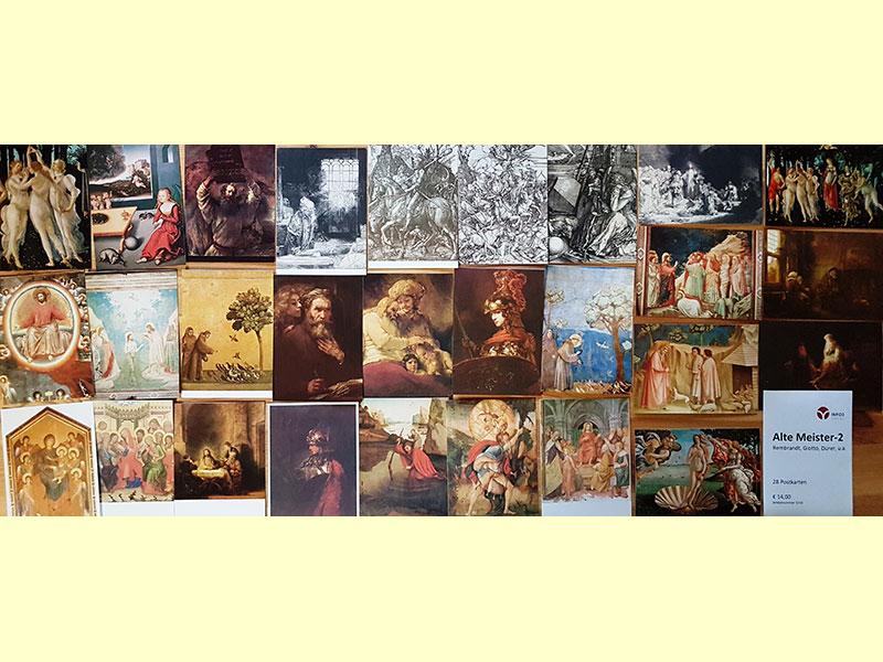 Postkartenset Alte Meister 2. © Info3 Verlag