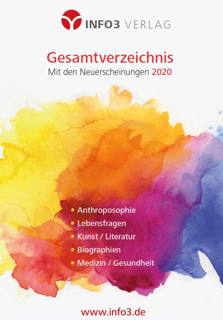Gesamtverzeichnis Buchprogramm. © Info3 Verlag