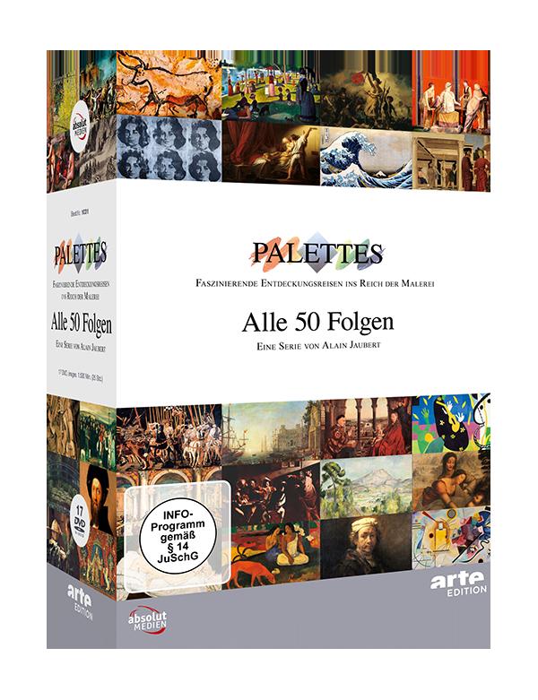 Palettes. DVD-Box mit allen Folgen (17 DVDs)