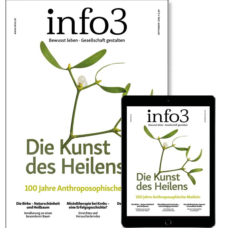 Abonnements Zeitschrift info3 - © Info3 Verlag