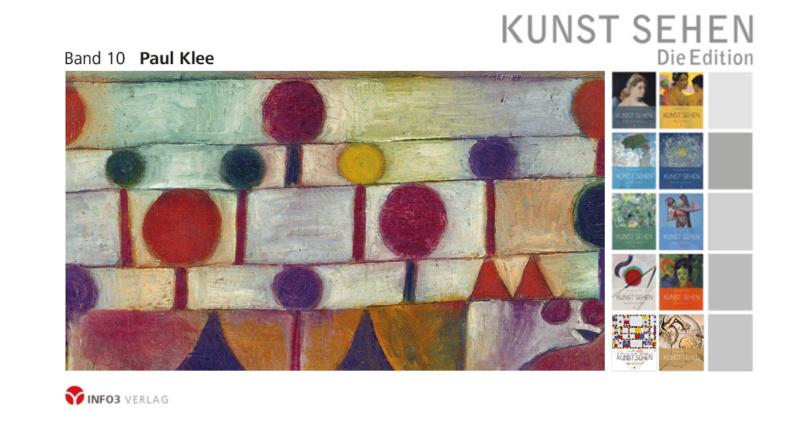 Kunst sehen - Band 10: Paul Klee. © Info3 Verlag