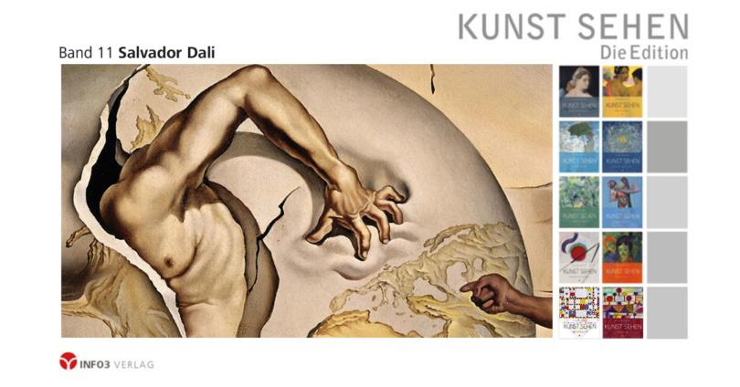 Kunst sehen - Band 11: Salvador Dalí. © Info3 Verlag