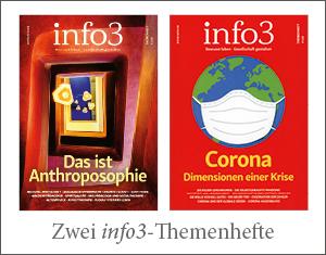 Aboprämie Info3: Zwei Themenhefte. © Info3 Verlag