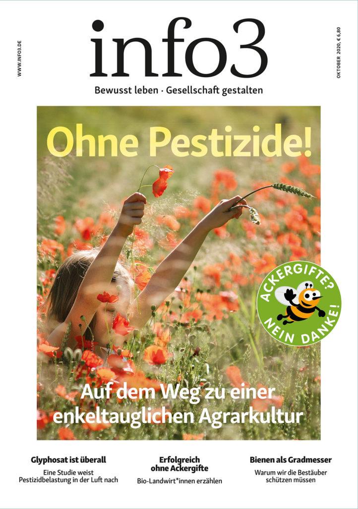 Zeitschrift info3, Oktober 2020. © Info3 Verlag