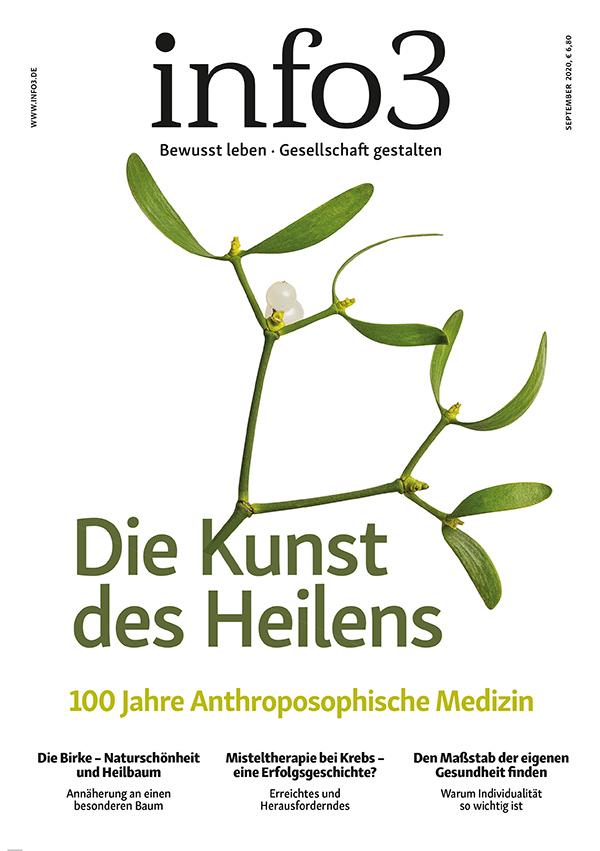 Zeitschrift info3, Ausgabe September 2020. © Info3 Verlag