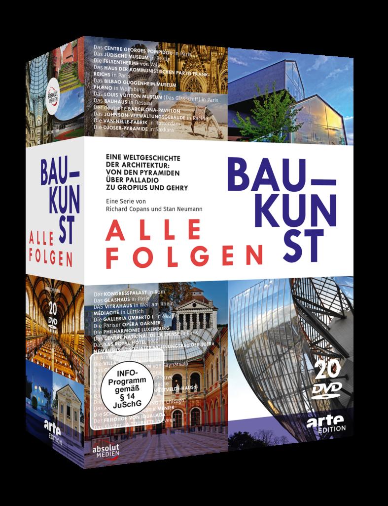 Absolut Medien: Baukunst. Die Serie. DVD-Box mit 20 DVDs.